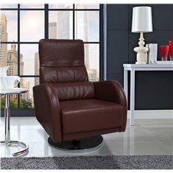 Кресло Лотос на хромированной дуге